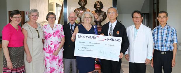 Projekt Dåseringe i Danmark har doneret 200.000 kr.