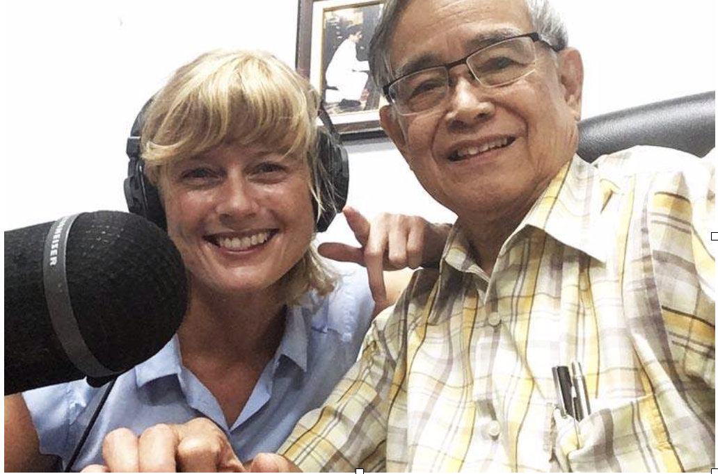 NRKs Grete Strøm fant Boksringenes herre i Chiang Mai.