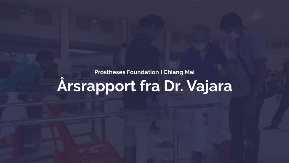 Årsrapport fra Dr. Vajara fra Prostheses Foundation